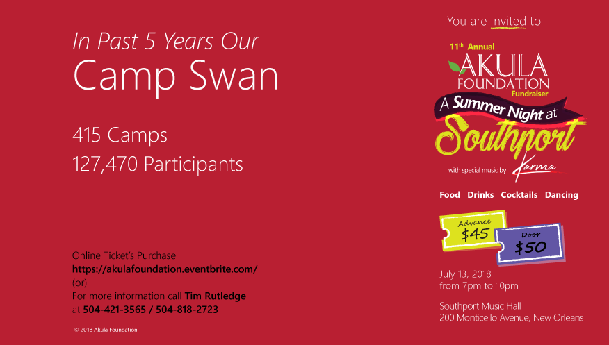 Past 5 years Camp Swan
