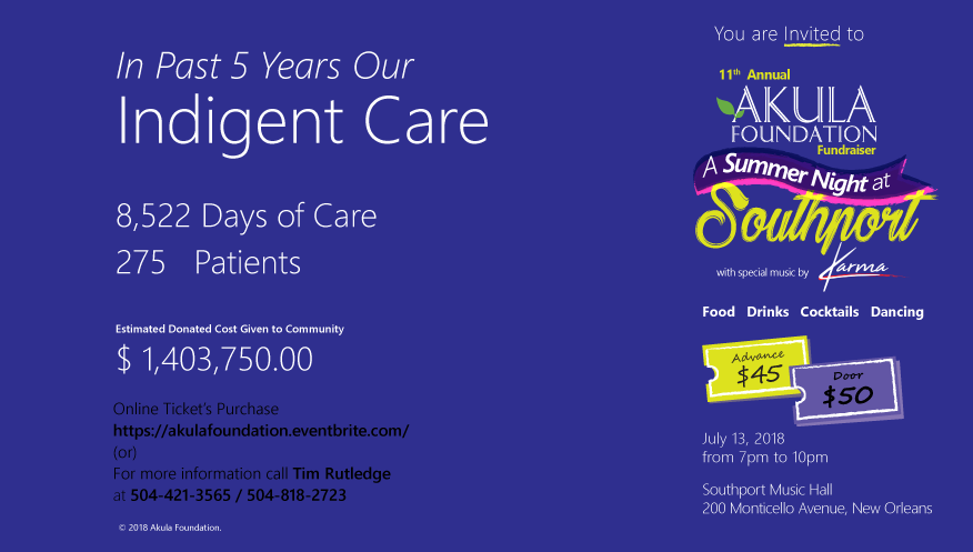 Past 5years Indigent Care