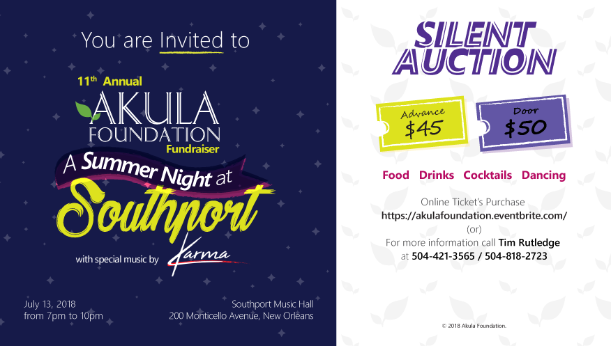 11th Annual Akula Foundation Fundraiser