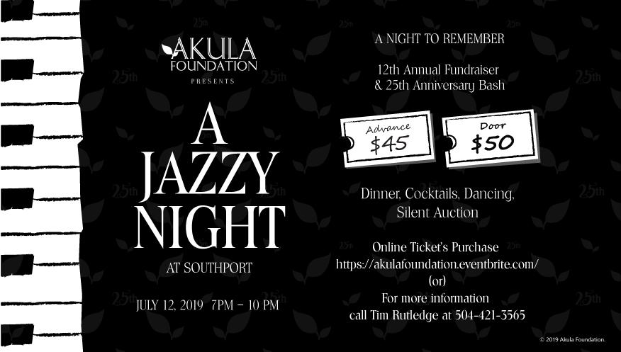 12th Akula Foundation Fundraiser